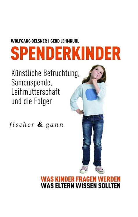 Buch Cover von Spenderkinder - Was Kinder fragen werden